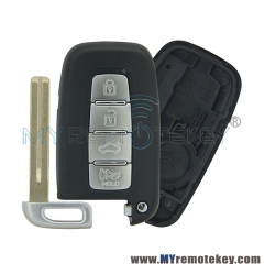Smart key case shell for Hyundai 4 button