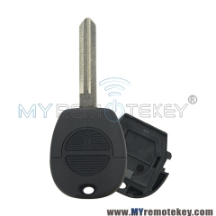 Remote key shell for Nissan Terrano 2 button NSN14