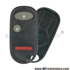 Remote Fob shell case for Honda Civic A269ZUA106 2 button with panic