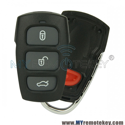 Remote fob shell case cover for Hyundai Kia 3 button with panic