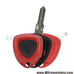Remote car key case shell 1 button for Ferrari
