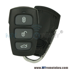 Remote fob shell case cover for Hyundai Kia 3 button