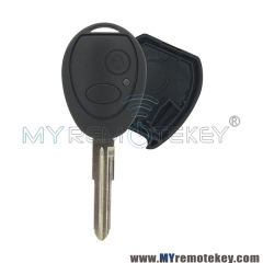 Remote car key case shell for Landrover Discovery 2 button