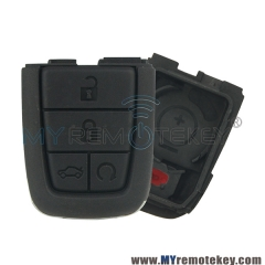Flip remote key shell case for Pontiac G8 5 button