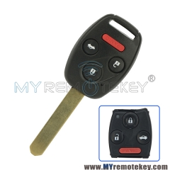 Remote head key MLBHLIK-1T 3 button with panic 313.8Mhz for Honda CRV Fit