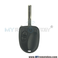 Remote key case shell for Chevrolet Lumina 2 button