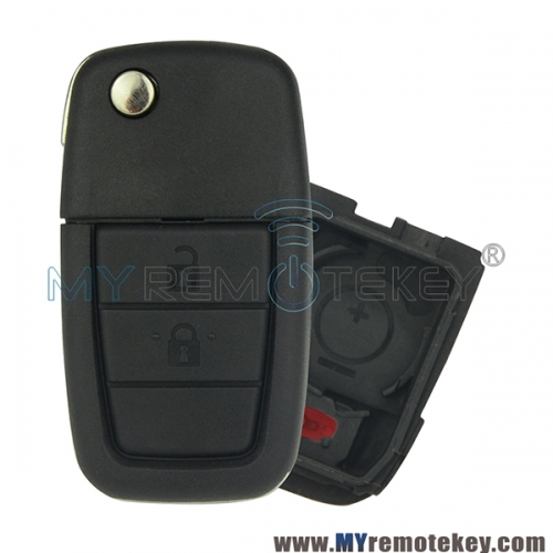 Remote car key shell case for Holden VE Commodore 2 button with horn