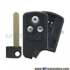 Smart key blank shell for Honda Accord 3 button