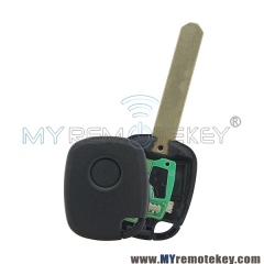 Remote key 1 button 314Mhz FSK without chip for Honda CRV Odyssey Fit City Accord