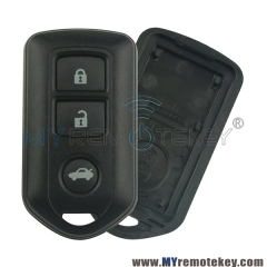 Remote fob shell case for Toyota Corolla Camry 3 button