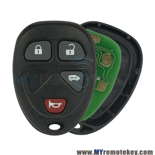 OUC60270 Remote key fob for Buick Terraza Chevrolet Uplander Pontiac Montana 4 button 315mhz