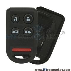 Remote fob shell case 5 button for Honda Odyssey
