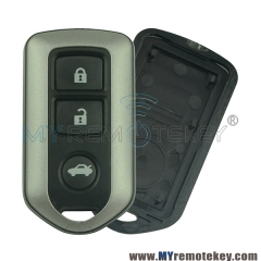 Remote fob shell case 3 buttons for Toyota Prado Highlander