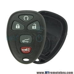 OUC60270 Remote key fob shell case for Buick Cadillac Chevrolet 5 button