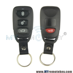Remote fob shell case for Hyundai Kia 3 button with panic