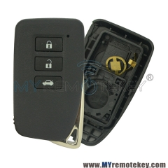 Smart key case shell for Lexus ES250 IS250 GS350 GS450h 3 button