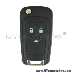 (Round back)Remote key and Smart key for Buick Excelle GT 3 GM ID46 chip 434mhz 3 button