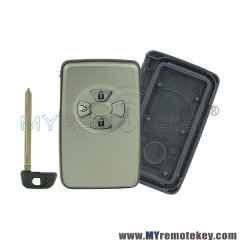 Smart key shell for Toyota Yaris Previa 3 button