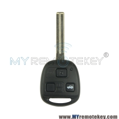 Remote key for Lexus TOY48 long 3 button
