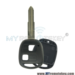 Remote key shell for Toyota 2 button TOY41