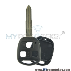 Remote key shell for Toyota 3 button TOY41