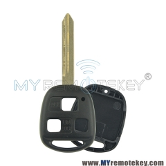 Remote key shell case 3 button for Toyota Land Cruiser TOY47
