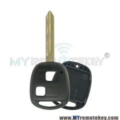 Remote key shell for Toyota 2 button TOY47