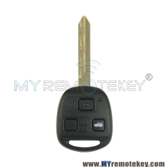 Remote car key 3 button TOY47 for Toyota