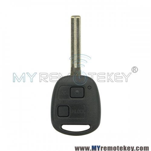 Remote key for Lexus TOY48 long 2 button