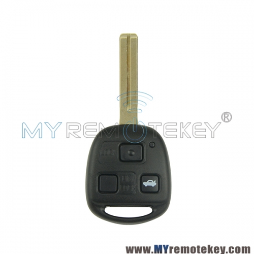 Remote key for Lexus 3 button TOY48