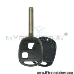 Remote key shell case for Lexus TOY48 long 2 button
