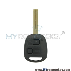 Remote key for Lexus 2 button TOY48