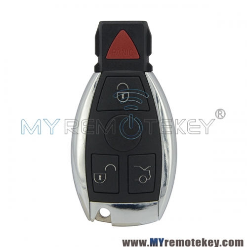 Smart key 3 button with panic for Mercedes benz