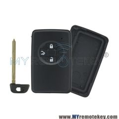 Smart key shell case for Toyota 3 button