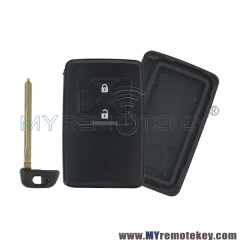 Smart key shell case for Toyota 2 button