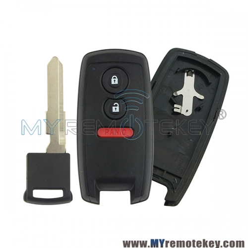 KBRTS003 37172-64J00 Smart key case shell 2 button with panic for Suzuki GRAND VITARA SX4 2006 2007 2008 2009 2010