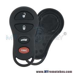 Remote case for Chrysler 4button GQ43VT17T
