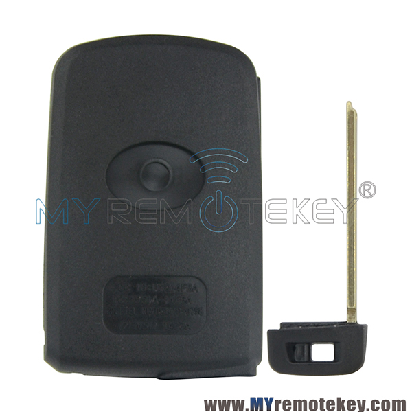 Smart key case shell 3 button for Toyota