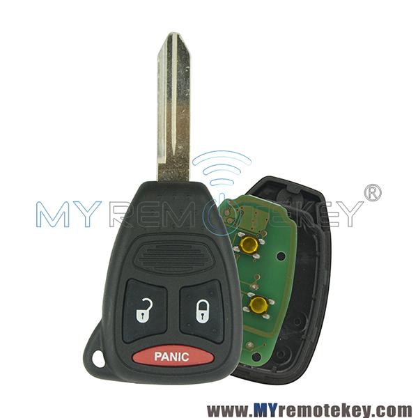 Key Fob Keyless Entry Remote fits Chrysler 300 Aspen//Dodge Charger Durango//Jeep Commander Grand Cherokee 2005 2006 2007 2008 2009 2010 2011 2012 2013 KOBDT04A