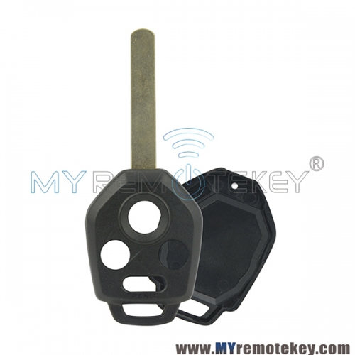 Remote key shell case DAT17 3 button with panic for Subaru Legacy Outback 2009 2010 2011 2012