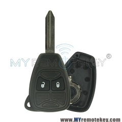 Remote key head case for Chrysler Dodge Jeep