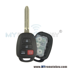 Remote key for Toyota Camry HYQ12BDM 4 button 314.4mhz