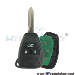 Remote head key ID46 PCF7941 3 button 434Mhz for Dodge JCUV JEEP Compass Chrysler 300C Sebring