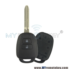 Remote key shell for Toyota HYQ12BDM 2 button