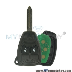 Remote head key ID46 PCF7941 2 button 434Mhz for Chrysler PT Cruiser Sebring Dodge Avenger Jeep Liberty 2008 2009 2010