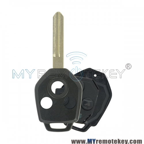 Remote key 3button 434Mhz 4D62 chip  NSN19 for 2009 2010 2011 2012 Subaru Outback Legacy Forest