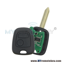 Remote key SX9 2 Button 433 mhz with ID46 electronic chip for Peugeot Citroen Xsara Picasso Berlingo 2002 2003 2004 2005 2006 2007 2008