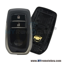 For Toyota 2 button smart key case new style