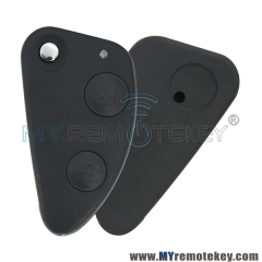 For Alfa Romeo 147 156 GT remote key case 2 Button flip uncut