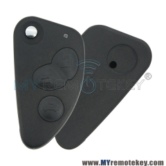 3 Button key replacement For Alfa Romeo 147 156 GT 166 T0211 car remote key case shell flip type
